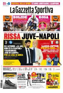 La Gazzetta dello Sport Roma – 04 ottobre 2020