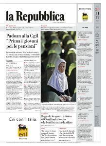 la Repubblica - 23 Novembre 2017