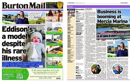 Burton Mail – April 13, 2019