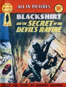 Super-Detective Library 131-Blackshirt and the Secret of the Devils Ravine Bogof39