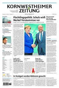 Kornwestheimer Zeitung - 04. September 2017