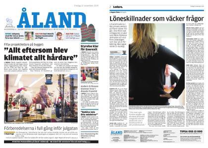 Ålandstidningen – 22 november 2019