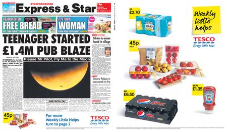 Express and Star Staffordshire Edition – July 18, 2019