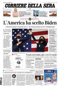 Corriere della Sera – 08 novembre 2020