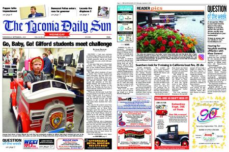 The Laconia Daily Sun – September 04, 2019