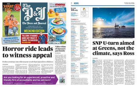 The Press and Journal Moray – August 14, 2021