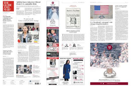 The Globe and Mail – December 28, 2018