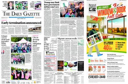The Daily Gazette – October 22, 2018