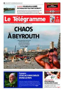 Le Télégramme Ouest Cornouaille – 05 août 2020