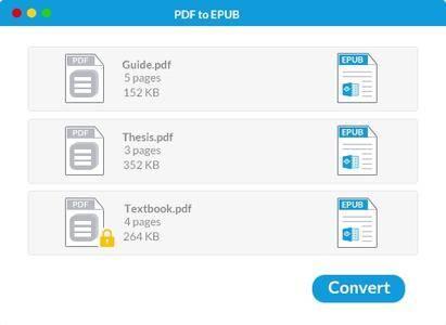 Wondershare PDF to EPUB Converter 5.1.0 Mac OS X