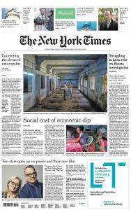 International New York Times - 6-7 January 2018