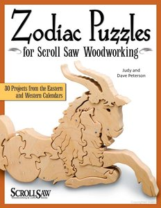 Zodiac Puzzles for Scroll Saw Woodworking: 30 Projects from the Eastern and Western Calendars (repost)