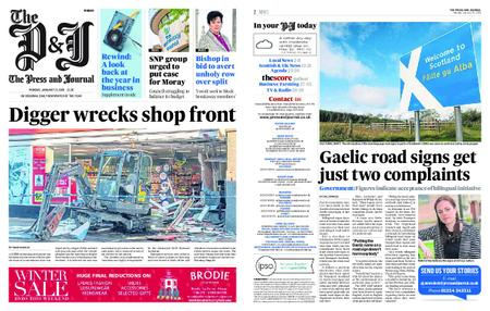 The Press and Journal Moray – January 21, 2019