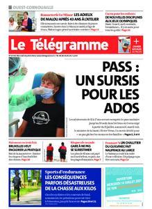 Le Télégramme Ouest Cornouaille – 14 juillet 2021