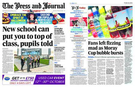 The Press and Journal Moray – October 26, 2017