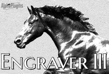 AlphaPlugins Engraver III v1.1 for Adobe Photoshop