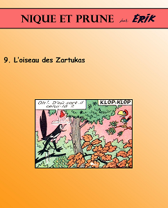 Nique et Prune - Tome 9 - L'oiseau des Zartukas