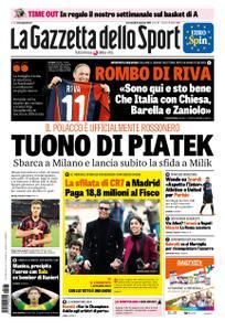 La Gazzetta dello Sport Roma – 23 gennaio 2019