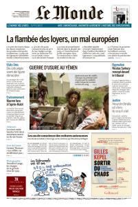 Le Monde du Vendredi 26 Octobre 2018