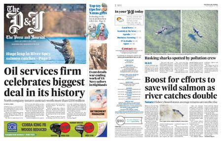 The Press and Journal Moray – September 27, 2019