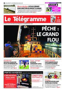 Le Télégramme Ouest Cornouaille – 12 octobre 2020