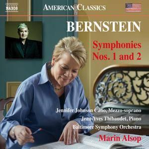 Jennifer Johnson Cano, Jean-Yves Thibaudet, Baltimore SO, Marin Alsop - Leonard Bernstein: Symphonies Nos. 1 & 2 (2017)