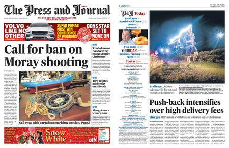 The Press and Journal Moray – October 25, 2017