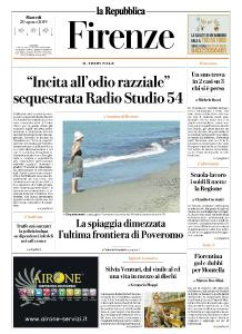 la Repubblica Firenze - 20 Agosto 2019