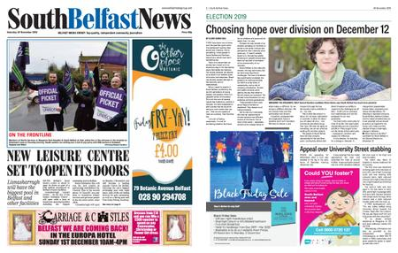 South Belfast News – November 28, 2019