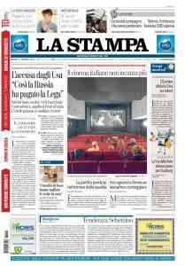 La Stampa Torino Provincia e Canavese - 11 Gennaio 2018