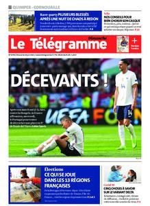 Le Télégramme Ouest Cornouaille – 20 juin 2021