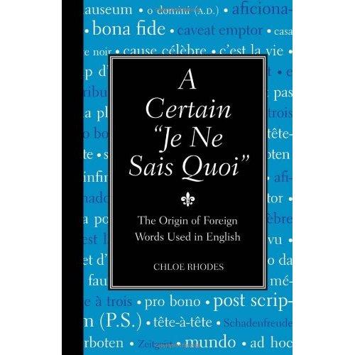 """A Certain """"Je Ne Sais Quoi"""" [Repost]"""