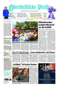 Oberhessische Presse Marburg/Ostkreis - 09. Oktober 2018