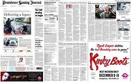 The Providence Journal – December 03, 2017