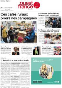 Ouest-France Édition France – 11 novembre 2019