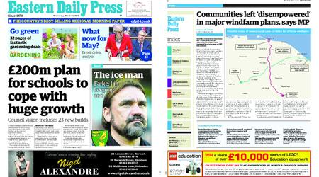 Eastern Daily Press – March 13, 2019