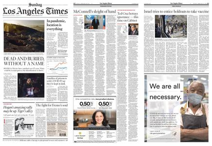 Los Angeles Times – February 28, 2021