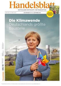 Handelsblatt - 13. September 2019