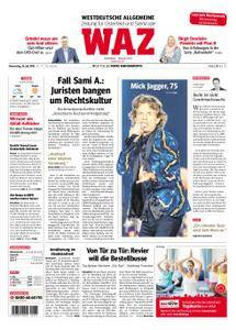 WAZ Westdeutsche Allgemeine Zeitung Oberhausen-Sterkrade - 26. Juli 2018
