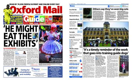 Oxford Mail – October 11, 2018