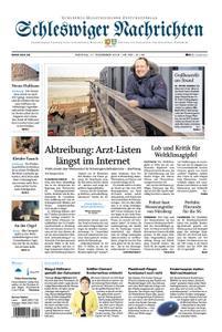 Schleswiger Nachrichten - 17. Dezember 2018