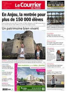 Le Courrier de l'Ouest Angers – 01 septembre 2021