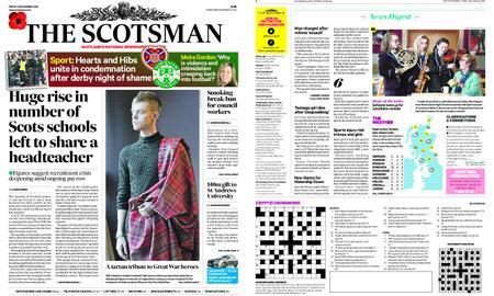 The Scotsman – November 02, 2018