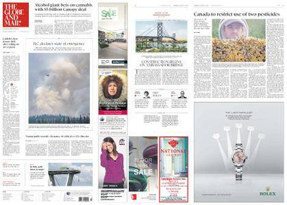The Globe and Mail – August 16, 2018