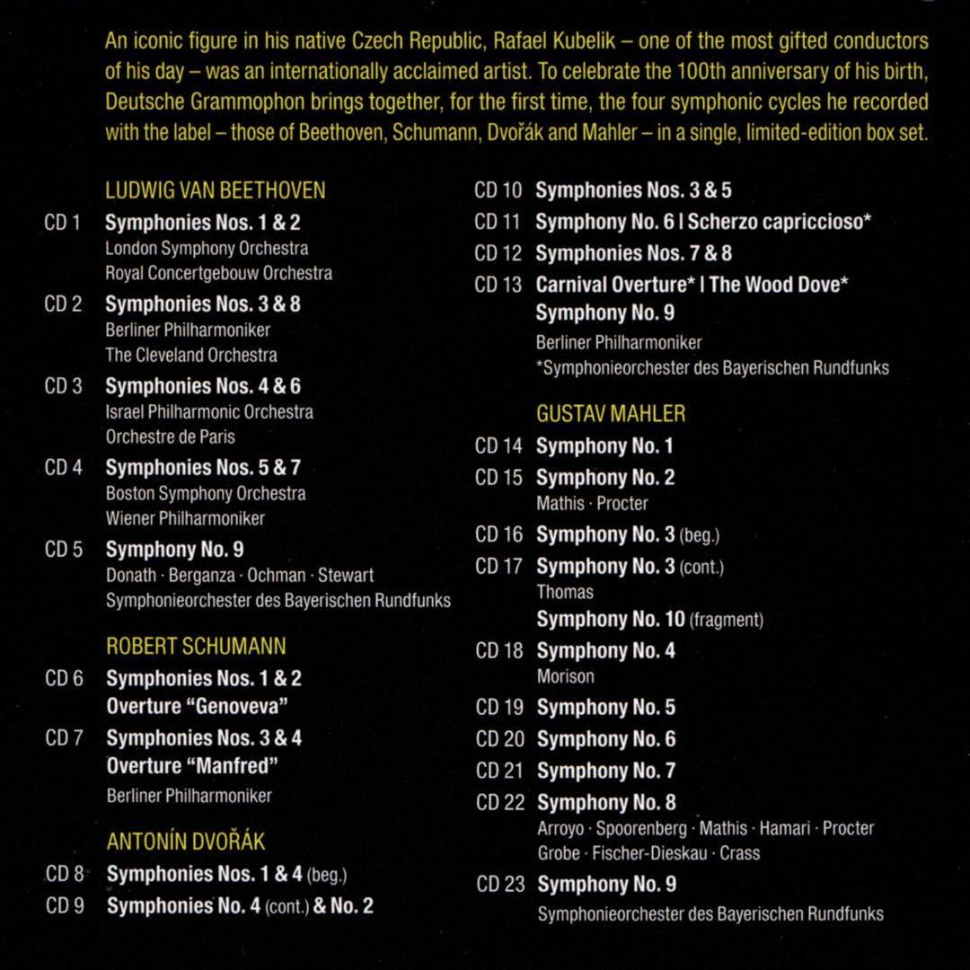Rafael Kubelik - The Symphony Edition (2014) (23 CDs Box Set)