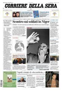 Corriere della Sera - 27 Dicembre 2017