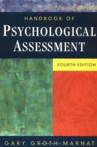 Handbook of Psychological Assessment, 4th edition (repost)