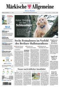 Märkische Allgemeine Dosse Kurier - 09. April 2018