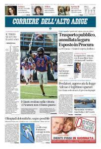 Corriere dell'Alto Adige - 7 Luglio 2018