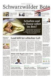 Schwarzwälder Bote Hechingen - 16. November 2017